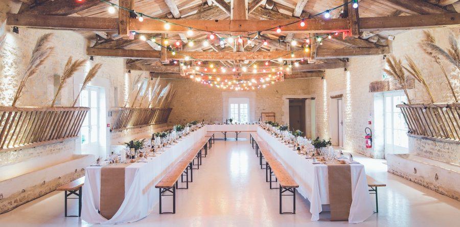 Оформление свадебного вечера