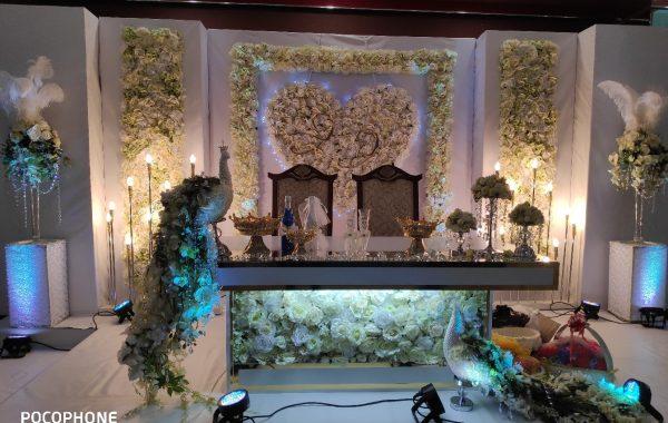 Свадебный декор в Минске, свадьба в белом цвета