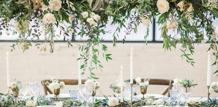 7 модных идей оформления свадьбы цветами в 2020 году